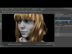 Interactive Grooming with MayaCheck out the all-new interactive grooming workflow in Maya a more artist-friendly approach to grooming hair and fur. Maya 2017 Update 3 includes new features suc 3d Face, 3d Tutorial, Maya, Youtube, Tutorials, Fur, Software, Community, Artists