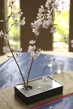 "Japan style flower vase ""sizuka_s"""