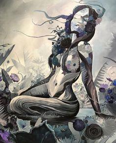 ✨With the wind her hair & the Earth beneath her.she felt alive ✨ . Black Love Art, Soul Art, Erotic Art, Cute Art, Female Art, Art Inspo, Fantasy Art, Art Photography, Street Art