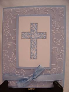 Bashful Cross AUG10VSNJ by RDey - Cards and Paper Crafts at Splitcoaststampers