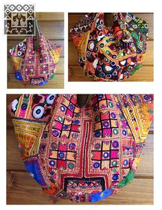 Vintage Indian Banjara Tribal Fabric Tote Bag by LavishLanna, $189.00