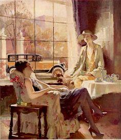 """Haddon Hubbard Sundblom, a.k.a. Haddon """"Sunny"""" Sundblom (American, 1899 – 1976)"""