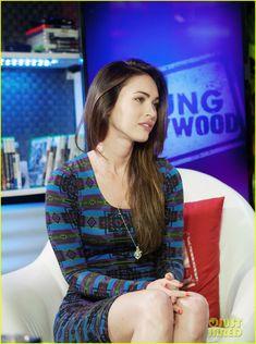 Megan Fox: Young Hollywood Studios Visit!