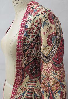 Coat (Wentke) Date: 1720–40 Culture: Netherlands Medium: cotton, linen