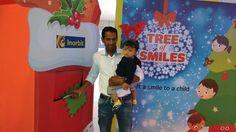 Mr Ranjit Gharat & his little Santa shared smiles this Christmas!  #InorbitMakesMeSmile