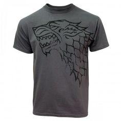 Ce T-shirt Game of Thrones aux couleurs de la maison Stark est une véritable
