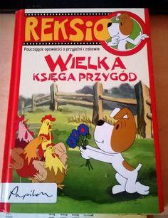 Mama opowiedziała mi że będąc dzieckiem – wieczorną porą oczekiwała na pojawienie się na małym ekranie ulubionych bohaterów filmów dla dzieci, powszechnie zwanych dobranockami. Mama bardzo lubiła oglądać Reksia przemiłego biało-brązowego psiaka, z którym przeżywało się zabawne, a przy okazji i pouczające przygody. Obecnie można te bajki oglądać w Internecie, albo kupić pięknie wydane książki. Poland, Cover, Art, Art Background, Kunst, Performing Arts, Art Education Resources, Artworks