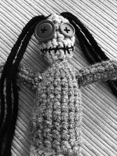 A personal favourite from my Etsy shop https://www.etsy.com/uk/listing/385351240/zombie-doll