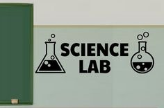 Science Lab Vinyl Wall  Decals  Science Classroom by iheartdecals, $12.99