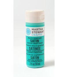 Martha Stewart Satin Craft Paint - Diving Board