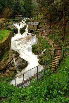 Museum of portuguese bread water mills, Capela, Penafiel - Portugal