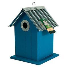 Hanging Bird House (Blue)