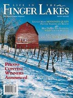 Life in the Finger Lakes - The magazine that re-introduces its readers to this special New York State region each passing season
