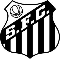 Santos of Brazil crest. Top Soccer, Soccer Logo, Sports Logo, Soccer Teams, Football Soccer, Soccer World, World Football, Football Team Logos, Football Cards