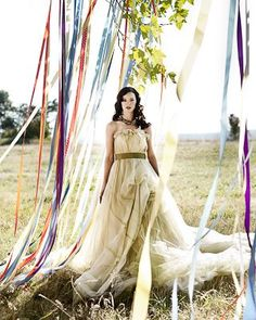 「リボン」を使った結婚式デコレーションはこんなに可愛い♡プレ花嫁さんのためのアイディア集♡ -page2 | Marry Jocee