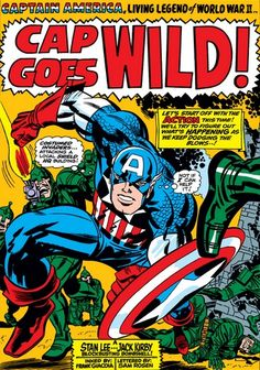 Captain America #106 splash page