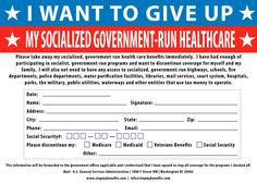 Convenient form for teabaggers to print out