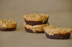 Amaranth peanut butter treats. Woohoo.