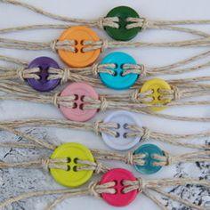 Cute as a button bracelet by Basketful Of ... | Preciously