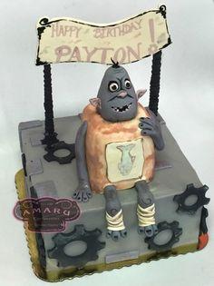 Boxtroll cake