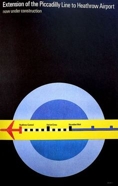 Tom Eckersley posters from 1966 to 1988