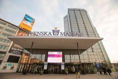 Welcome to the Svenska Mässan, venue of the EANM congress 2014 Gothenburg, Fair Grounds, Fun, Travel, Viajes, Destinations, Traveling, Trips, Hilarious