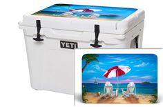 Sale MD Flag Wood USATuff Wrap Skin Lid Kit fits RTIC 20qt Cooler