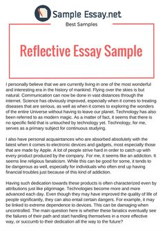 Is A Good Way To Start Writing A Reflective Essay How To Write A  How To Write A Reflective Essay Effectively From The Beginning Till The End