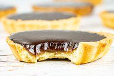 Tartelettes chocolat et caramel beurre salé au Thermomix - Cookomix