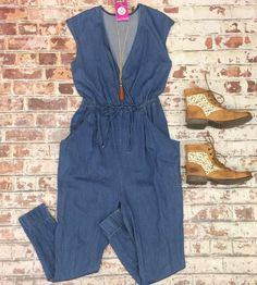 Denim overalls are perfect for spring!   #pcCLT...
