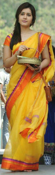 @Rashi beautiful in saree