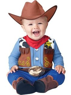 One of my friends called not to long ago to announce that him and his wife are expecting a new baby. Not just any kind of baby, but a cowboy baby. Toddler Halloween Costumes, Cute Costumes, Halloween Fancy Dress, Baby Halloween, Costumes Kids, Spirit Halloween, Trendy Halloween, Costume Ideas, Cowboy Baby