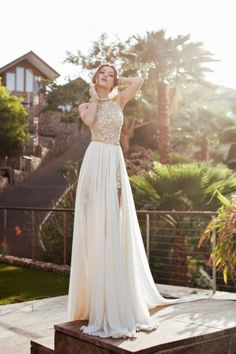 Julie Vino, orchid collection. Wedding dress 2014