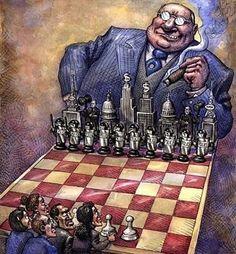 Cette caricature ressemble à celles faites par Délivré dans certains livres d'échecs sur www.olibris.com