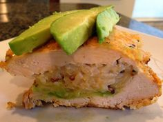 Recipe: California Stuffed Chicken (Avocado and Quinoa) ~ Trendy Mom Reviews #Recipes #Chicken #Avocado #Quinoa