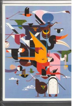 WINGS OF THE WORLD Charley Harper