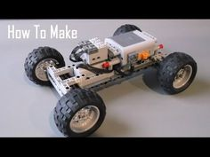 How To Make a Basic Lego Technic RC Chassis - Fast - YouTube
