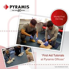 Caring for people means helping them when in need. At Pyramis we make sure we are all qualified to do so, with First Aid tutorials in our premises! Oven And Hob, International Days, Cooker Hoods, Quality Kitchens, First Aid, First World, Tutorials, People, First Aid Kid