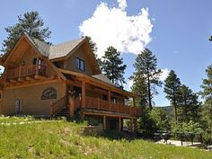 Wannabee Moose Lodge -5 bedroom with outdoor fire pit and hot tub!Vacation Rental in Deadwood from @homeaway! #vacation #rental #travel #homeaway