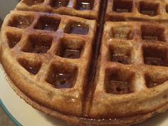 You won't miss the eggs or dairy. I'm not vegan by any stretch of the imagination, but this is still my go-to waffle recipe. And a primer on making your own