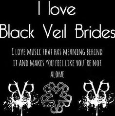 I love BVB, with almost all of my heart(there has to be room for Skillet and BMTH too!) but mainly skillet and bvb