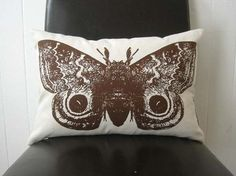 moth pillow