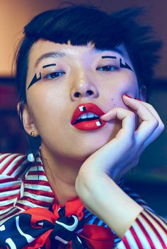 Tian Yi in Vogue China November 2015 by Jem Mitchell