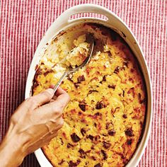 Sausage and Polenta Breakfast Casserole Recipe