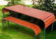 Скамейки для отдыха на даче, крепкие и удобные