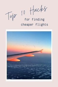 That exciting moment when you click on 'next' and- hang on, how much?! We've all been there. Here are the top 10 hacks for finding cheaper flights!