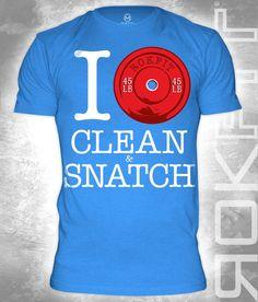 I Pound Clean Snatch