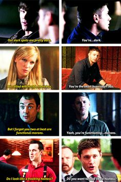 Dean and lame comebacks :D [gifset]