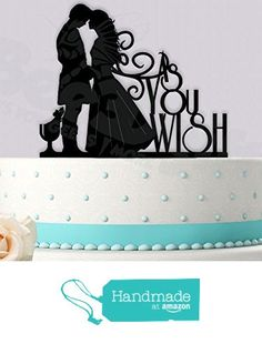 As You Wish Princess Bride Inspired Wedding Cake Topper from Bee3DGifts http://www.amazon.com/dp/B01BXITKXK/ref=hnd_sw_r_pi_dp_5IvYwb03PSN3J #handmadeatamazon