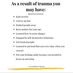 Living with trauma can be difficult at times its okay to take your time and deal with it at your own pace - . Mental And Emotional Health, Emotional Healing, Emotional Abuse, Emotional Intelligence, Mental Health Awareness, Trauma, Mantra, Inner Child Healing, Coaching